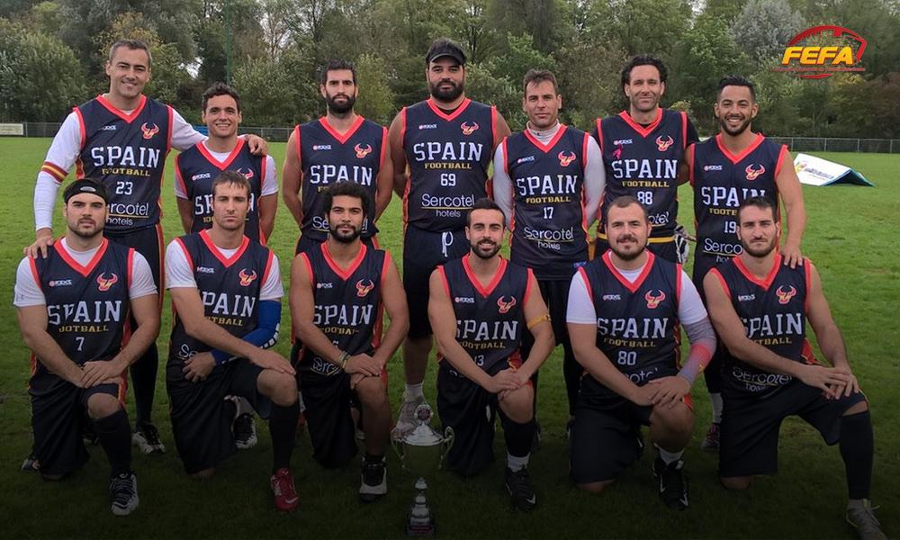 """El flag football español hace historia en el torneo internacional """"Pink Bowl"""""""
