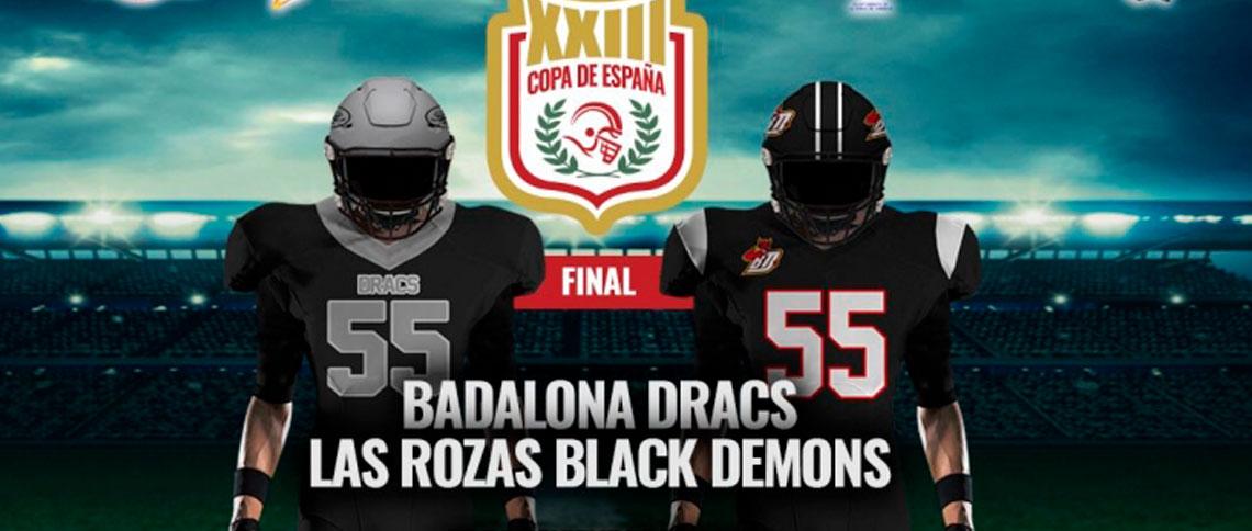 Dracs vs LG OLED Black Demons, gran final de la XXIII Copa de España
