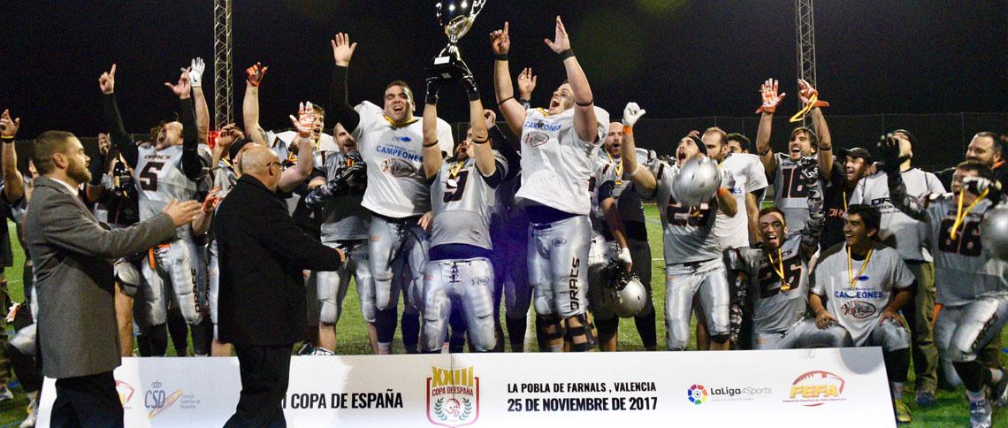 Dracs conquista la Copa de España ante LG OLED Black Demons (26-7)