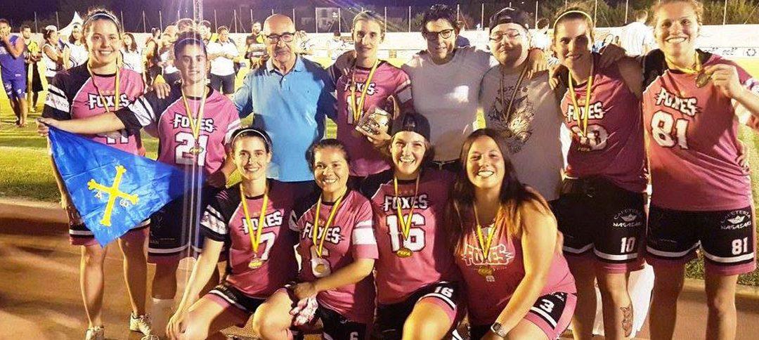 Gijón Foxes, equipo del 2017 para la web Historia Deportiva