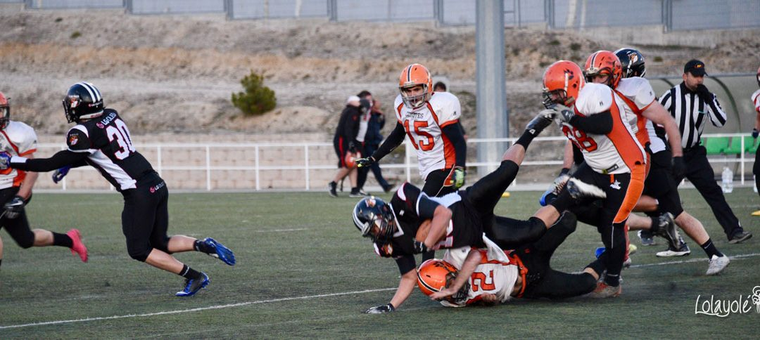 LG OLED Black Demons, con paso firme ante Coyotes (41-0)