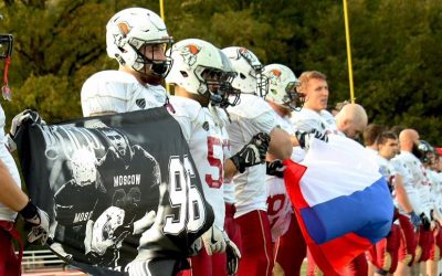 La selección de Rusia no se perderá la American Football International Cup 2018