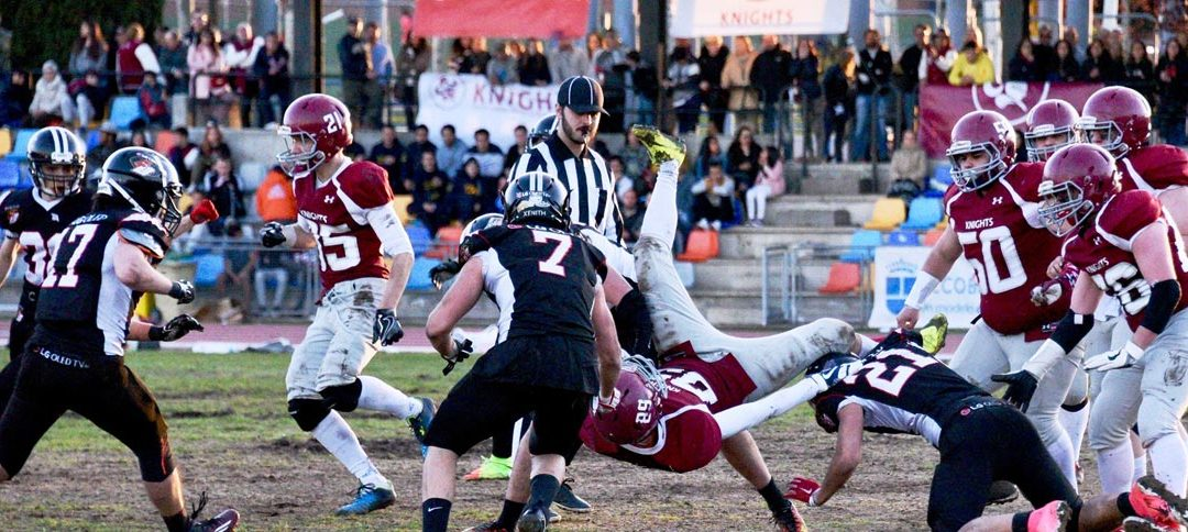 LNFA Junior: LG OLED Black Demons vence a Royal Oaks Knights (20-35) y se mete en semis