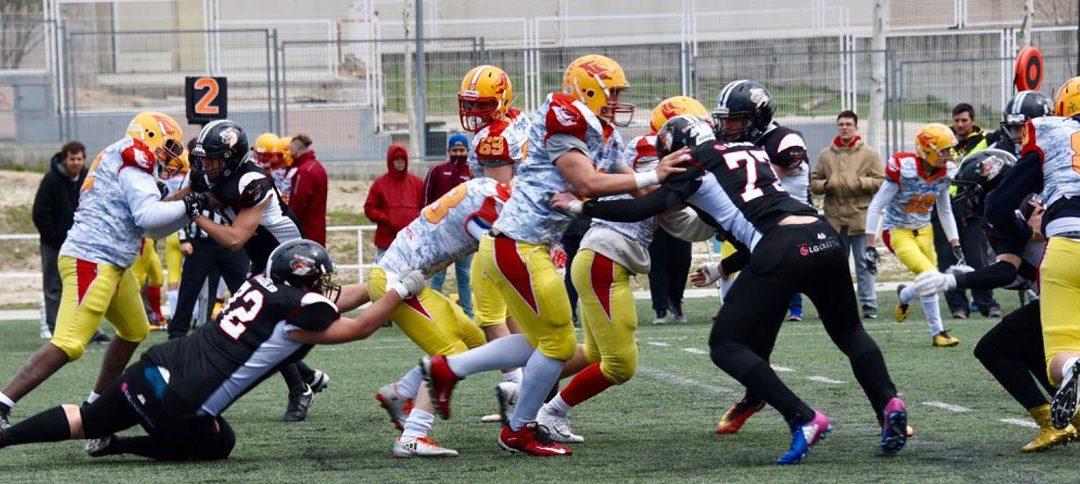 Osos vs Black Demons, final madrileña en la LNFA Junior