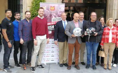 Presentada ayer en el Ayuntamiento de Gijón la Spanish Bowl 2018
