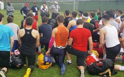 """Cerca de 200 jugadores y jugadoras toman parte en los """"tryouts"""" del Team Spain en Calatayud"""