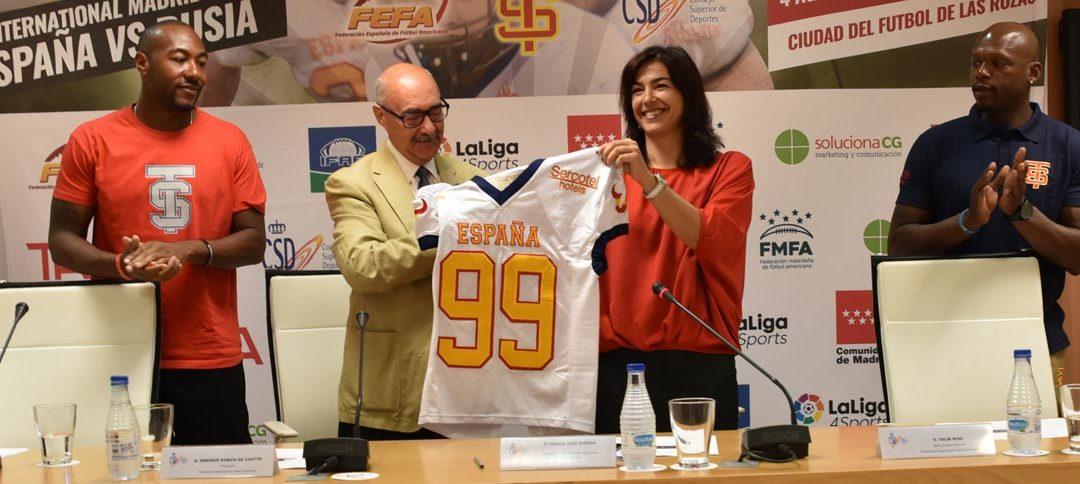 Presentación oficial del International Madrid Open en el CSD