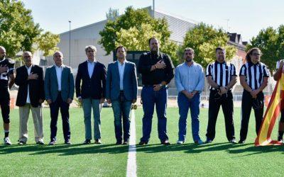 Las Rozas inaugura el primer campo de fútbol americano permanente de España