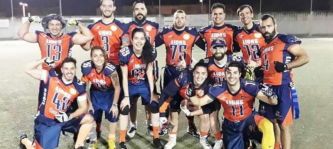 Granada Lions, campeones de la I Copa Andaluza de flag